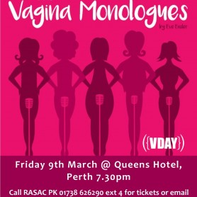 Vagina Monologues - Fundraising Event 9th March