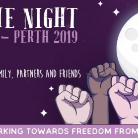 Reclaim the Night March and Event Perth 2019